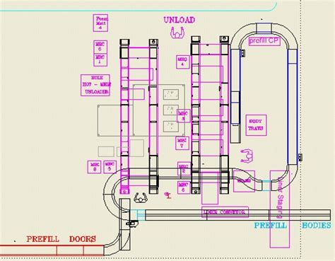 work cell layout project 05401 files