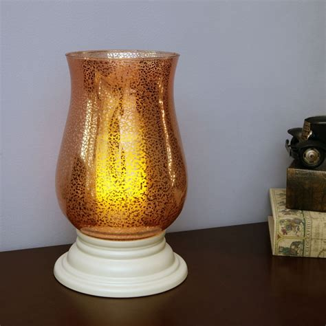 glass hurricane ls alexandria flameless mercury glass hurricane