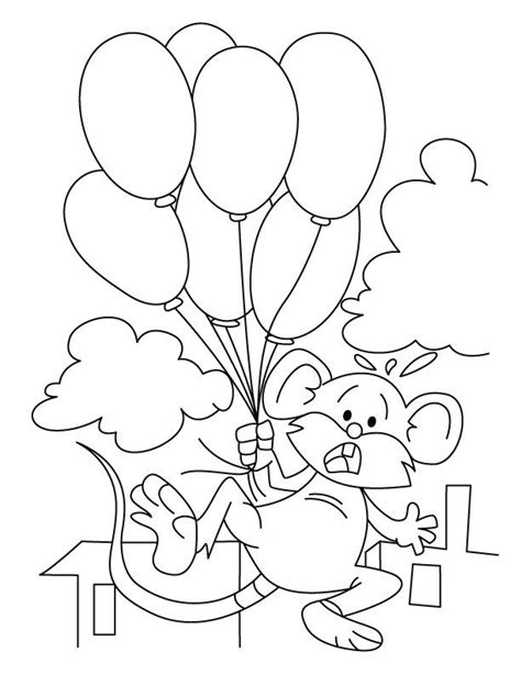 mickey mouse balloons coloring page mickey mouse balloon coloring pages coloring home
