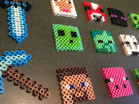 hama bead minecraft hama bead patterns grasshopper