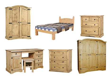 Corona Pine Bedroom Furniture Corona Solid Distressed Waxed Pine Bedroom Furniture Beds Chests Wardrobes Ebay