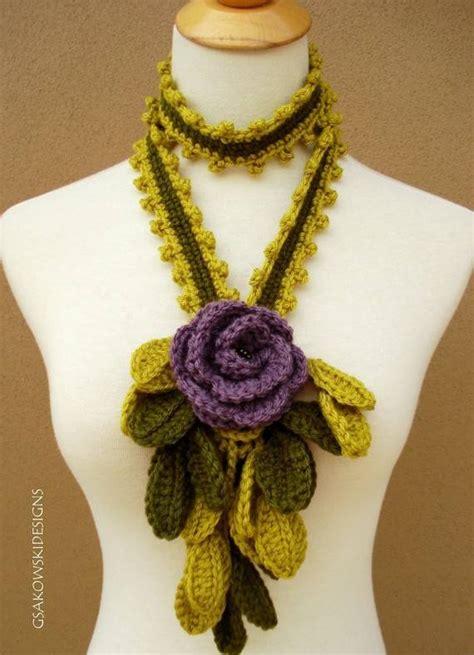 easy crochet openwork scarf