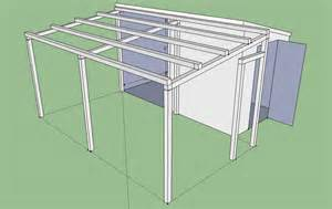 pent roof shed plans pdf build shed roof planpdffree