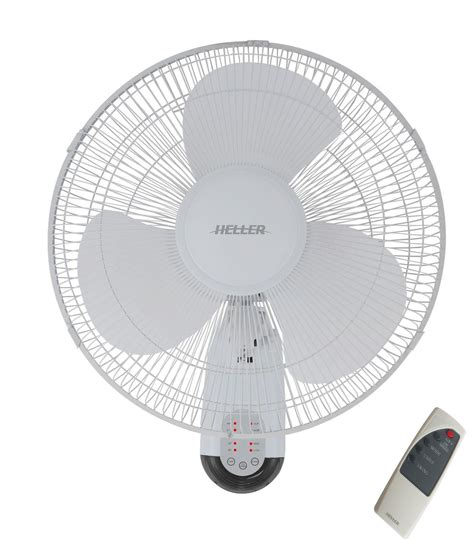 oscillating wall fan with remote heller 40cm 3 blade oscillating wall mounted fan withtimer