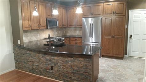 Corian Countertops Houston A Terrific And Tidy Townhome Kitchen Remodel In West