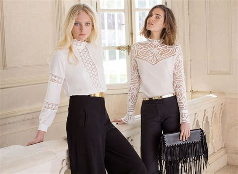 Rufina Blouse era inspired fontaine this season discover white blouses regence and rufina