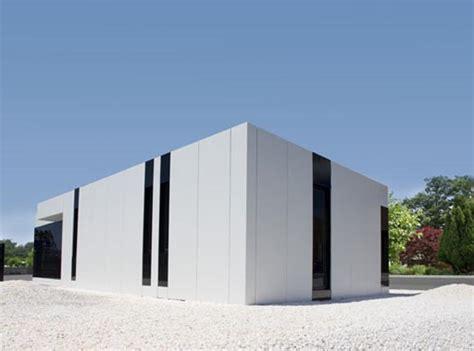 white modern architecture modern white modular house by a cero interior design