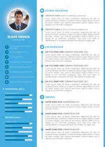 professional cv template with photo slade professional quality cv resume template by