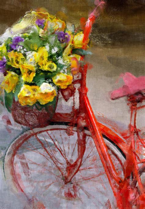 bike painting bicycle painting by vaidas bucys