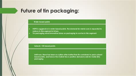Future Of Mba Marketing In India by Analysis Of Paint Industry Modes Of Packaging And Usage