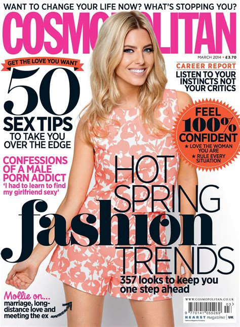 On The Cover Of Magazine by Molie King On The Cover Of Cosmopolitan Magazine Uk March
