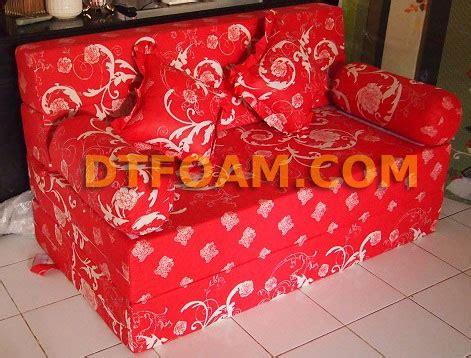 Kasur Busa Venus sofa kasur sofa bed venus merah dtfoam