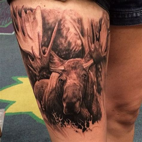 moose tattoo designs 20 best moose ideas images on moose