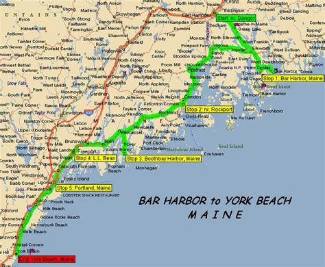 map of maine coastline maine search places i ve been