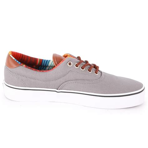 Vans Era 59 Grey vans era 59 c l mens trainers in grey