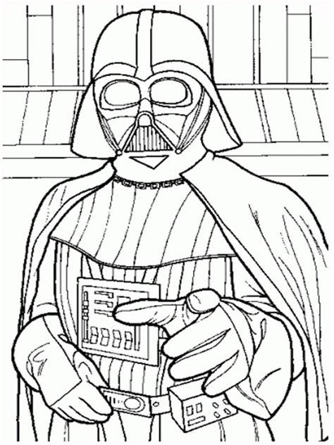 coloring page star wars darth vader star wars coloring pages coloring pages gallery