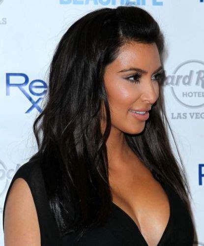 kim kardashian half up half down hairstyles 13 kim kardashian hair color ideas gorgeous