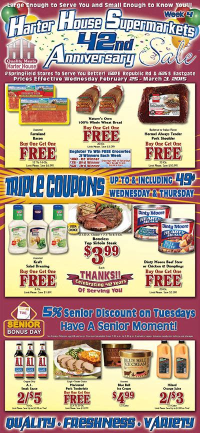 harter house ad harter house weekly ad weekly ads com