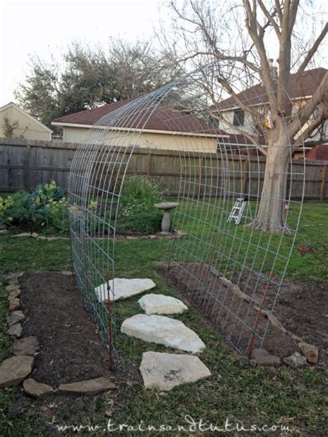 Cheap Garden Trellis Ideas 239 Best Creative Ideas For Raised Beds Containers Trellises Greenhouses Images On