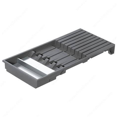 Knife Rack Drawer by Knife Holder For Legrabox Drawer Richelieu Hardware