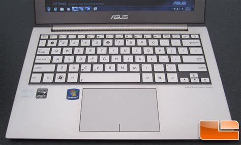Keyboard Asus Ux21 idf 2011 asus ux21 13 inch ultrabook on preview legit reviewsthe asus ux21e ultrabook