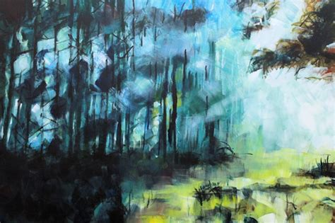 For Sale Abstract Landscape Paintings Original Countryside Landscape Abstract Realism Paintings