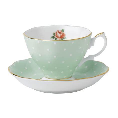 Bilder Teetasse by Royal Albert Polka Teacup Saucer Set Royal Albert