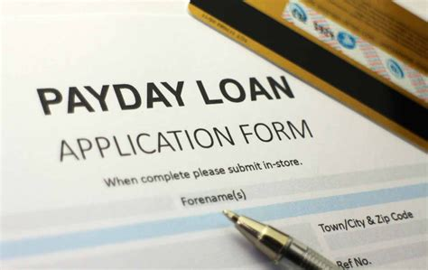 can payday loans damage my credit score credit