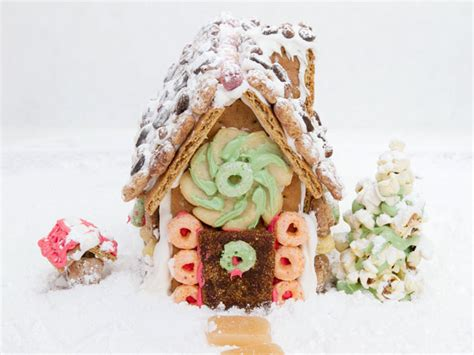 Graham Cracker Gingerbread House by Gingerbread House Hack How To Make One With Graham