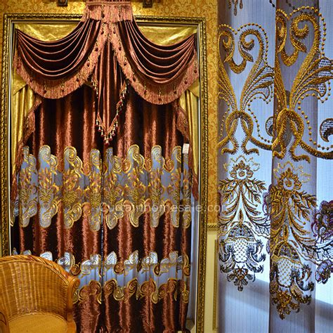 victorian house curtains luxury victorian living room curtain in wine color velvet