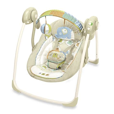 ingenuity by bright starts portable swing bright starts ingenuity portable swing kashmir bed