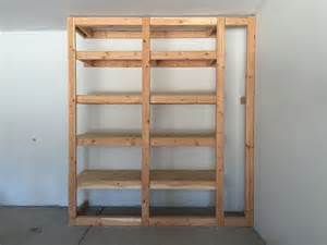 Garage Shelving Floor To Ceiling White Floor To Ceiling Garage Storage Diy Projects