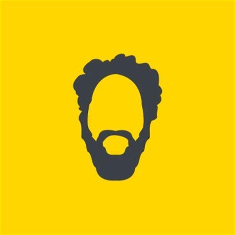 the gallery for gt beard logo 16 gray hair color inspiration for dog logo design