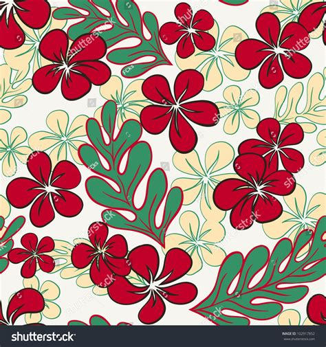 hawaii pattern vector seamless hawaii pattern stock vector illustration