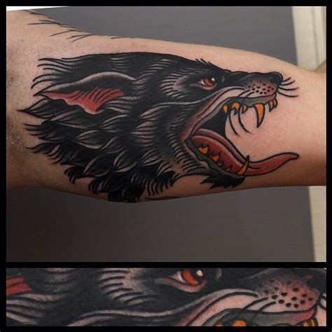 old school wolf tattoo the gallery for gt school wolf tattoos