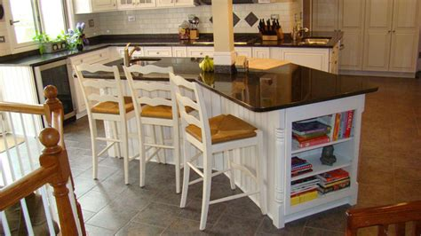 country kitchen islands with seating wayne kitchen remodel island seating side traditional