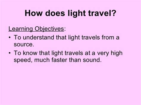 Does Light Travel Faster Than Sound by 01 How Does Light Travel