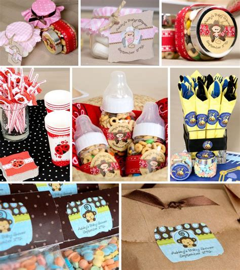 Do It Yourself Baby Shower Crafts by Personalized Favor Ideas Http Www