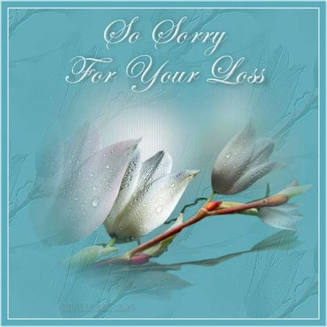 sorry for your loss sympathy images pictures graphics
