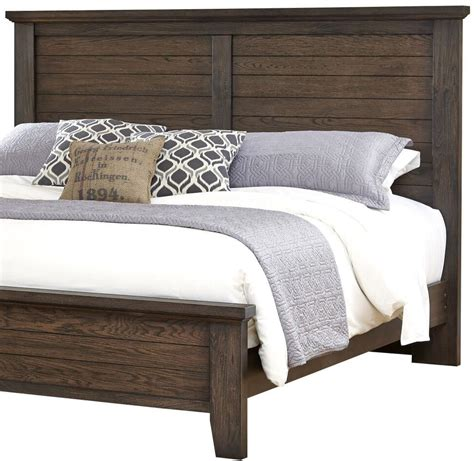king bed headboard only vaughan bassett cassell park king plank headboard johnny