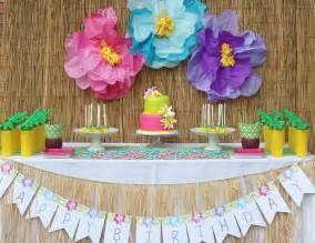 hawaii birthday quot julieta s hawaiian 2nd birthday party