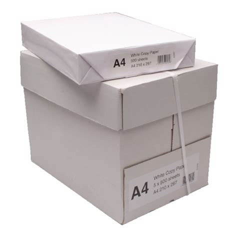 How To Make A Box From A4 Paper - new box 2500 sheets 5 reams a4 paper photocopy