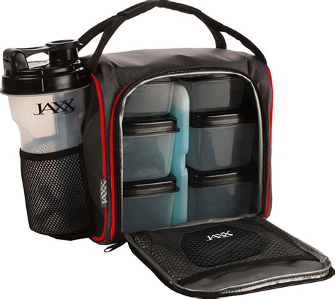 Fit Pack jaxx fitpak meal prep bag with portion containers