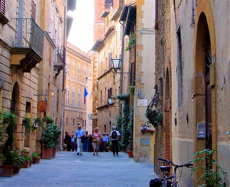 Main Door by Guided Tour To The Tuscan Hilltop Town Of Pienza Italy