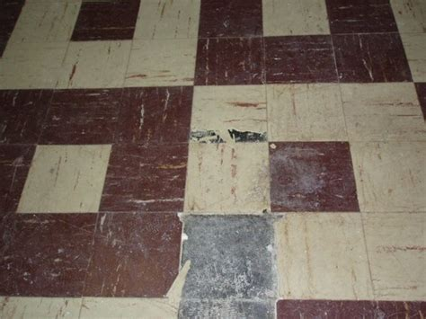 what does asbestos vinyl flooring look like quora