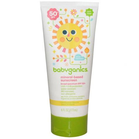 Babyganics Sunscreen Spray Spf50 177ml For Sunblock Krim Matahari babyganics mineral based sunscreen 天然兒童防曬霜 spf50 177ml