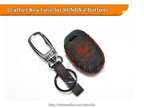 jual sarung kunci kulit leather keycase honda mobilio brio
