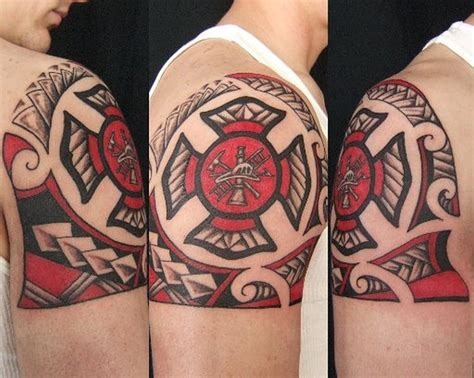 firefighter maltese cross tattoos firefighter tattoos tattoos book
