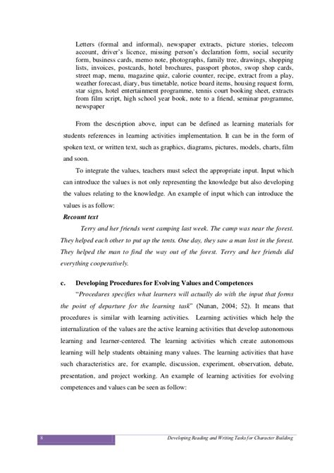 Character Building Letter writing a letter of recommendation character reference