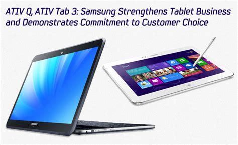 Samsung Electronics America Columbia Mba Linkedin by Ativ Q Ativ Tab 3 Samsung Strengthens Tablet Business
